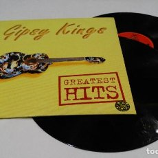 Discos de vinilo: GIPSY KINGS GREATEST HITS LP DOBLE - 1994- FRANCE. Lote 120306875