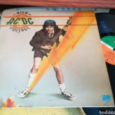 Discos de vinilo: AC DC LP HIGH VOLTAGE ESPAÑA 1982. Lote 120308586