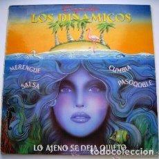Discos de vinilo: ORQUESTA LOS DINAMICOS / LO AJENO SE DEJA QUIETO - VENTE PA´ACA (SINGLE 1988). Lote 120311939