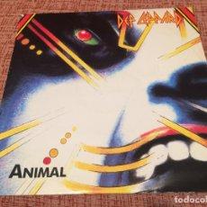 Discos de vinilo: DEF LEPPARD -ANIMAL- (1987) MAXI-SINGLE. Lote 120315875
