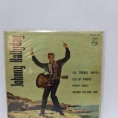 Dischi in vinile: EP ** JOHNNY HALLYDAY ** TES TENDRES ANNEES ** COVER/ EXCELLENT ** EP/ EXCELLENT ** 1963. Lote 120317603