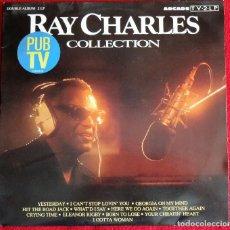 Discos de vinilo: RAY CHARLES COLLECTION DOBLE LP ARCADE ARC 14557-1 1989 HOLANDA. Lote 120318599