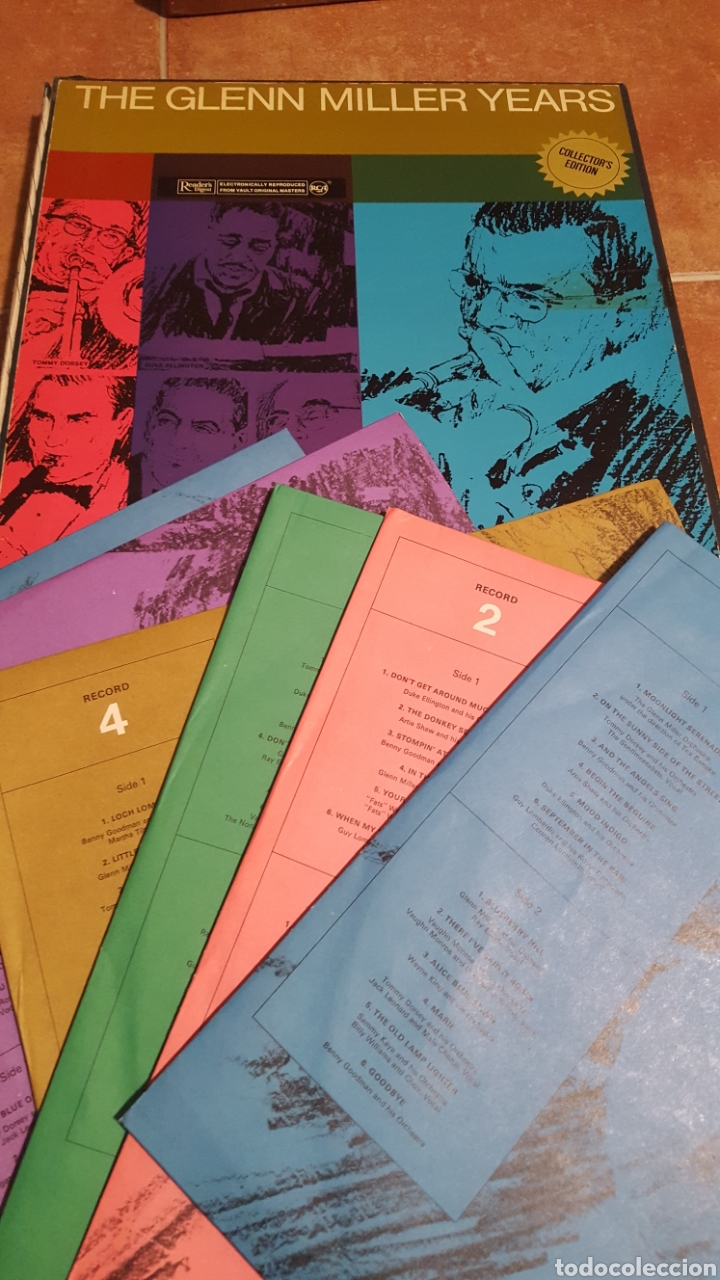 THE GLEN MILLER YEARS (Música - Discos - LP Vinilo - Jazz, Jazz-Rock, Blues y R&B)