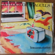 Discos de vinilo: A FLOCK OF SEAGULLS - TELECOMMUNICATION/ MODERN LOVE IS AUTOMATIC - JIVE 1982 PROMOCIONAL. Lote 120323819