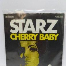 Discos de vinilo: SINGLE ** STARZ ** CHERRY BABY ** COVER/ VERY GOOD+/ EXCELLENT ** SINGLE/ EXCELLENT ** 1977. Lote 120327575