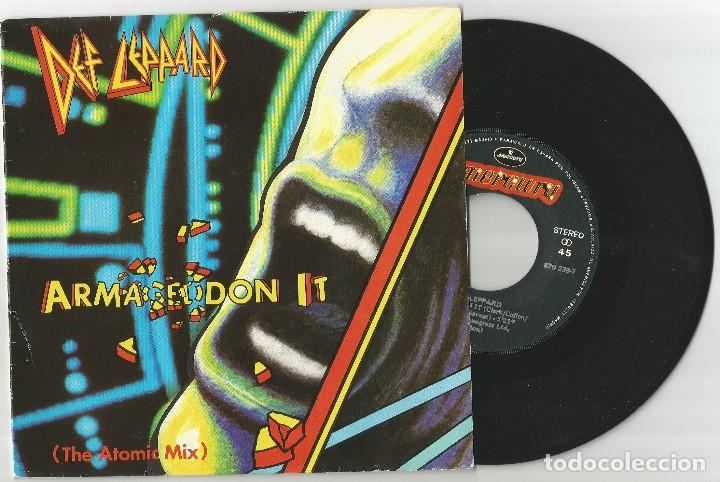 DEF LEPPARD ARMAGEDDON IT (THE ATOMIC MIX) + RING OF FIRE