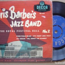 Discos de vinilo: CHRIS BARBER´S JAZZ BAND AT THE ROYAL FESTIVAL HALL NO2 - EP INGLES DECCA. Lote 120330395