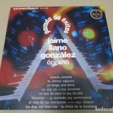 Discos de vinilo: JAIME LLANO GONZALEZ (LP) PARADA DE EXITOS AÑO 1972 – EDICION COLOMBIA. Lote 120334955
