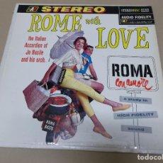 Discos de vinilo: JO BASILE (LP) ROME WITH LOVE AÑO 1959 – EDICION U.S.A.. Lote 120337611