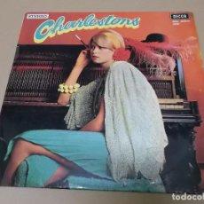 Discos de vinilo: THE JOHNSTON BROTHERS (LP) CHARLESTONS AÑO 1956 – EDICION FRANCIA. Lote 120337867