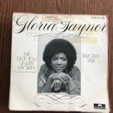 Discos de vinilo: GLORIA GAYNOR - I'VE GOT YOU UNDER MY SKIN - SINGLE POLYDOR 1976. Lote 120339567