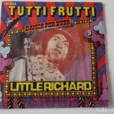 Discos de vinilo: LITTLE RICHARD - TUTTI FRUTTI / GOOD GOLLY MISS MOLLY. Lote 120339739