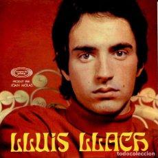 Discos de vinilo: LLUIS LLACH / IRENE / DESPERTAR / RES NO HA ACABAT + 1 (EP 1969 PORTADA ABIARTA CON LAS LETRAS). Lote 120343483