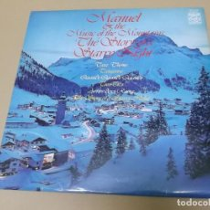 Discos de vinilo: MANUEL & THE MUSIC OF THE MOUNTAINS (LP) THE STORY OF A STARRY NIGHT AÑO 1977 – EDICION U.K.. Lote 120344727