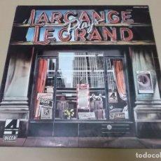 Discos de vinilo: MAURICE LARCANGE (LP) LARCANGE PLAYS LEGRAND AÑO 1976. Lote 120345127