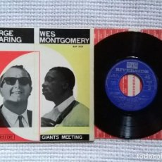 Discos de vinilo: GEORGE SHEARING WES MONTGOMERY - '' S/T '' EP 7'' SPAIN MONO 1964. Lote 120349331