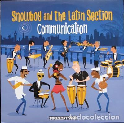 SNOWBOY AND THE LATIN SECTION - '' COMMUNICATION '' LP 2008 UK NUEVO (Música - Discos - LP Vinilo - Étnicas y Músicas del Mundo)