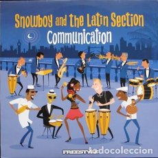 Discos de vinilo: SNOWBOY AND THE LATIN SECTION - '' COMMUNICATION '' LP 2008 UK NUEVO. Lote 120350599