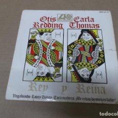 Discos de vinilo: OTIS REDDING Y CARLA THOMAS (EP) TRAMP AÑO 1968. Lote 120350795