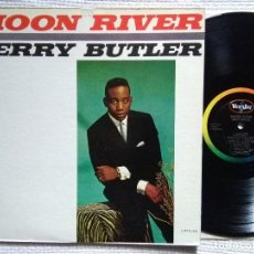 Discos de vinilo: JERRY BUTLER - '' MOON RIVER '' LP ORIGINAL USA 1962 MONO VEE JAY. Lote 120352831