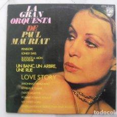 Discos de vinilo: LA GRAN ORQUESTA DE PAUL MAURIAT. PENELOPE, LOVE STORY... Lote 120353523