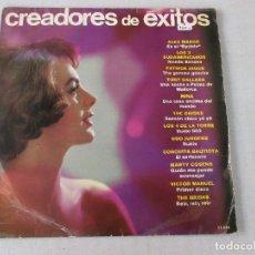 Discos de vinilo: CREADORES DE ÉXITOS VVAA BELTER 1966 LOS 3 SUDAMERICANOS MINA LOS 4 DE LA TORRE CONCHITA BAUTISTA. Lote 120360291