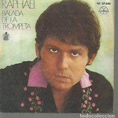 Discos de vinilo: RAPHAEL EP SELLO GAMMA-HISPAVOX EDITADO EN MEXICO . Lote 120366735