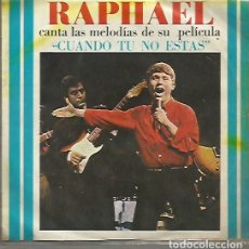 Discos de vinilo: RAPHAEL EP SELLO GAMMA-HISPAVOX EDITADO EN MEXICO . Lote 120366795