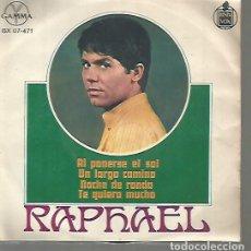 Discos de vinilo: RAPHAEL EP SELLO GAMMA-HISPAVOX EDITADO EN MEXICO . Lote 120366835