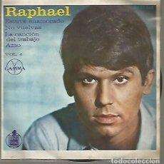 Discos de vinilo: RAPHAEL EP SELLO GAMMA-HISPAVOX EDITADO EN MEXICO . Lote 120366907