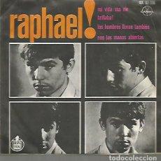 Discos de vinilo: RAPHAEL EP SELLO GAMMA-HISPAVOX EDITADO EN MEXICO . Lote 120366927