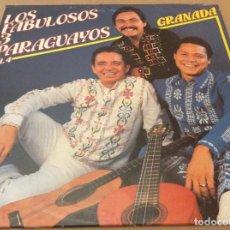 Discos de vinilo: LOS FABULOSOS 3 PARAGUAYOS VOL 4. GRANADA. SAAR LOTUS 1982. ED ITALIA.. Lote 120366963