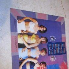Discos de vinilo: POP INSIDE THE SIXTIES LP - SEE FOR MILES 1988 - CON MIGHTY AVENGERS, WARRIORS, STEVE MARRIOTT, ETC. Lote 120372375