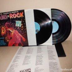 Discos de vinilo: LES MILLORS BALADES DEL ROCK-2LPS -1993- PICAP BCN . Lote 148212080