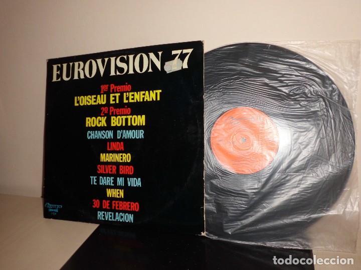 EUROVISION 1977-OLYMPO- BCN (Música - Discos - LP Vinilo - Festival de Eurovisión)