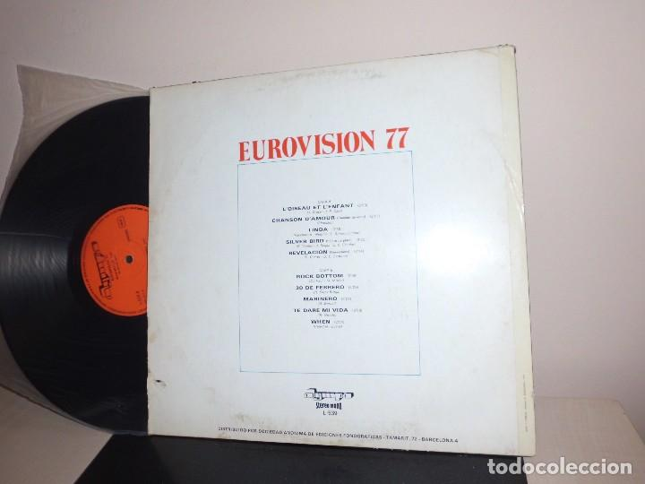 Discos de vinilo: EUROVISION 1977-OLYMPO- BCN - Foto 2 - 120405839