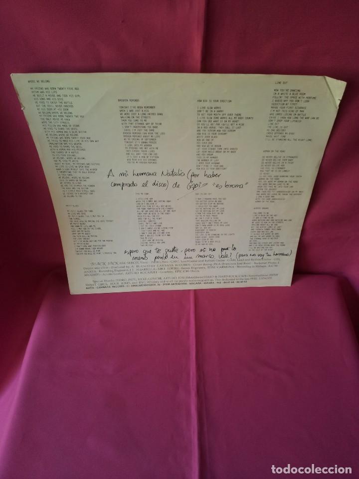 Discos de vinilo: BLACK JACK - LP, DO YOU WANT TO PLAY, OR...? - CAMBAYA RECORDS 1989 - Foto 4 - 120420175
