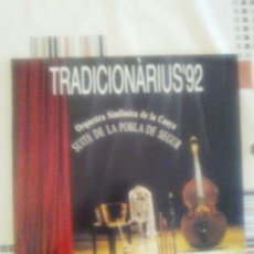 Discos de vinilo: TRADICIONÀRIUS'92. Lote 120429598