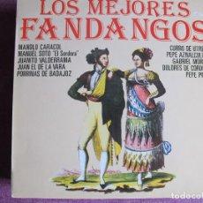 Discos de vinilo: LP - LOS MEJORES FANDANGOS - VARIOS (SPAIN, HISPAVOX 1986). Lote 120429883
