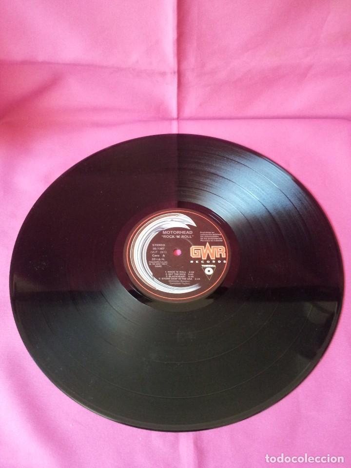 Discos de vinilo: MOTÖRHEAD - ROCK 'N' ROLL - GWR RECORDS 1987 - Foto 3 - 135238910