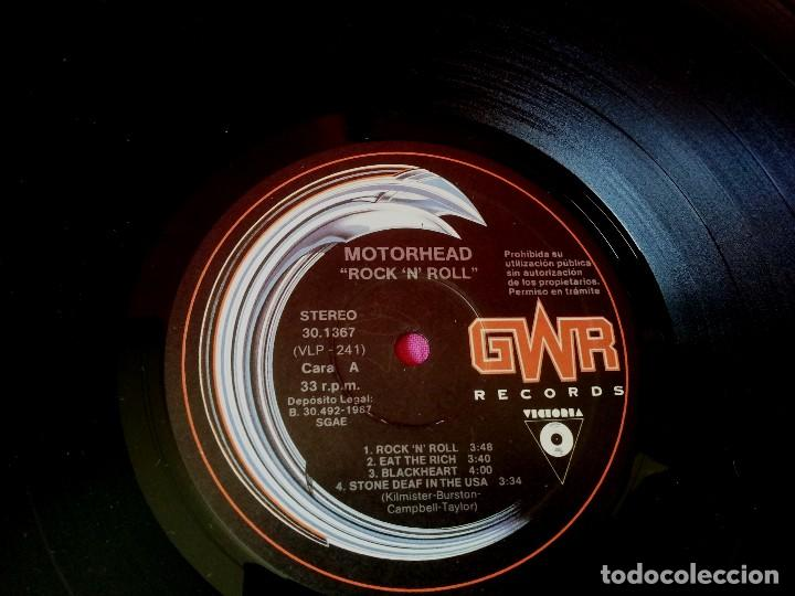 Discos de vinilo: MOTÖRHEAD - ROCK 'N' ROLL - GWR RECORDS 1987 - Foto 4 - 135238910
