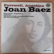 Discos de vinilo: DISCO VINILO SINGLE JOAN BAEZ. Lote 120447259