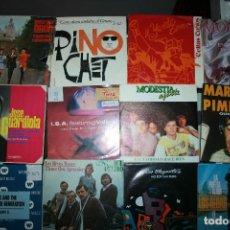 Discos de vinilo: LOTE DE 60 DISCOS SINGLES DIFERENTES ESTILOS. Lote 120469163