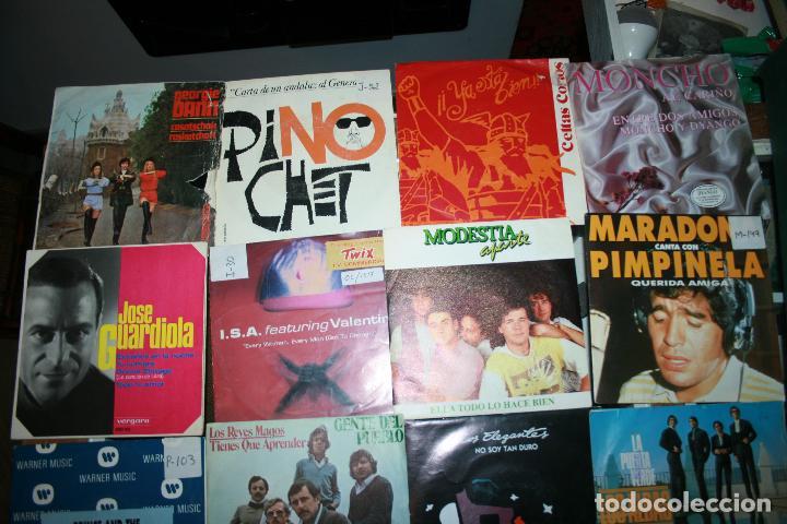 Discos de vinilo: Lote de 60 discos singles diferentes estilos - Foto 3 - 120469163
