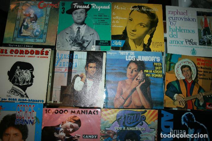 Discos de vinilo: Lote de 60 discos singles diferentes estilos - Foto 4 - 120469163