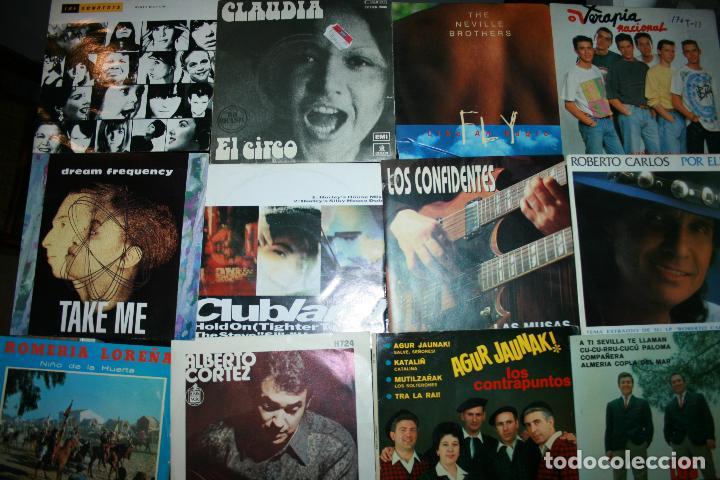 Discos de vinilo: Lote de 60 discos singles diferentes estilos - Foto 5 - 120469163