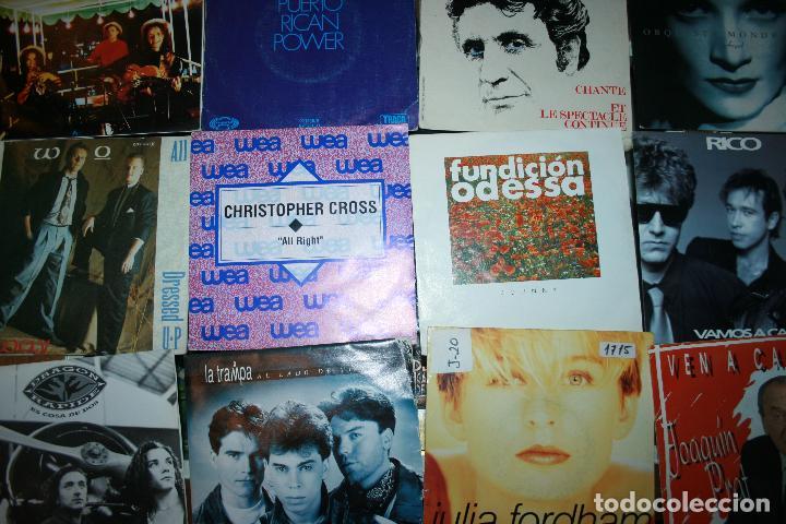 Discos de vinilo: Lote de 60 discos singles diferentes estilos - Foto 6 - 120469163