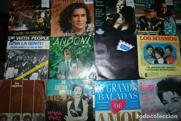 Discos de vinilo: Lote de 60 discos singles diferentes estilos - Foto 7 - 120469163