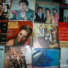 Discos de vinilo: LOTE DE 60 DISCOS SINGLES DIFERENTES ESTILOS. Lote 159909288