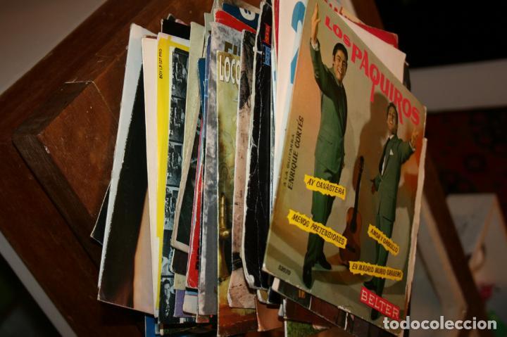 Discos de vinilo: Lote de 60 discos singles diferentes estilos - Foto 2 - 159909288